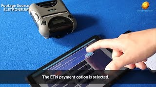 ELECTRONEUM ETN INSTANT PAYMENT BETA VENDOR APPLICATION DEMO