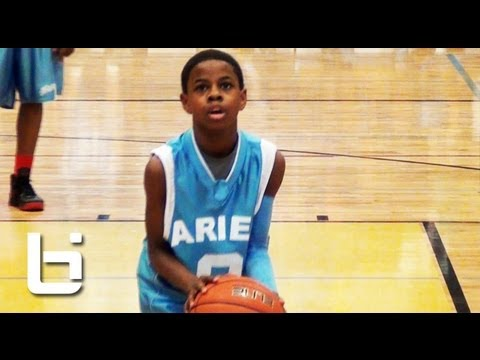 Thumbnail: 4'11 Chase Adams has Better Handles Than You! Top Chicago 7th Grader Official Ballislife Mixtape.