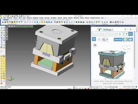 STANDARD ELEMENTS - Load parts by 3Dfind.it | VISI 2022.0