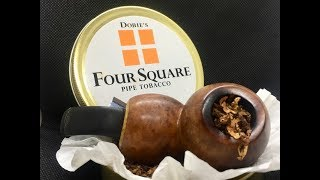 Обзор табака Dobies Four Square Virginia