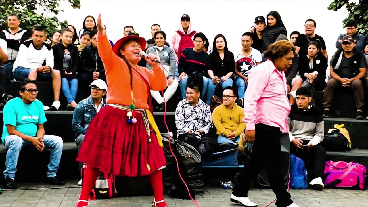 La Chola Camuchita Y El Bocon Comicos Ambulantes Completo