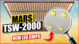 MARS TSW-2000 Review [ THE BIG ONE ] LED Grow Light