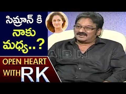 Krishna Bhagavaan Reveals Secret Facts About Actress Simran   Open Heart With RK   ABN Telugu