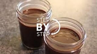 Chocolate Syrup Recipe - How to Make Chocolate Syrup, Homemade Chocolate Syrup Recipe