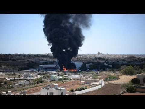 Fire at Wasteserv Malta Ltd. (part 2)