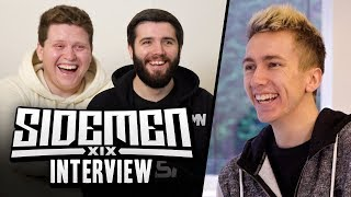 AN INTERVIEW WITH THE SIDEMEN