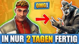 GERMAN FORTNITE REKORD!! MAXIMALER BLACK WOLF SKIN - CALAMITY SKIN IN ONLY 2 JOURS!!
