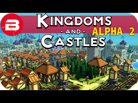 Kingdoms and Castles Gameplay: 1000 PEASANTS!!! #17 - Lets Play Kingdoms & Castle Alpha
