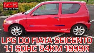 Montaż LPG Fiat Seicento z 1.1 54KM 1999r w Energy Gaz Polska na gaz Stag Monowtrysk(, 2016-10-31T14:51:40.000Z)