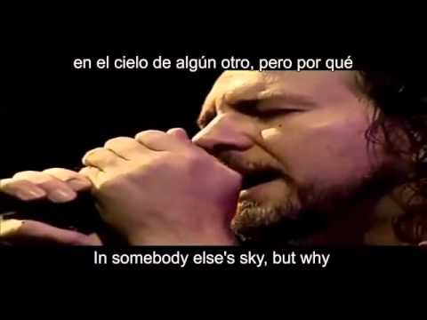 Pearl Jam   Black  Lyric  Ingles  Español
