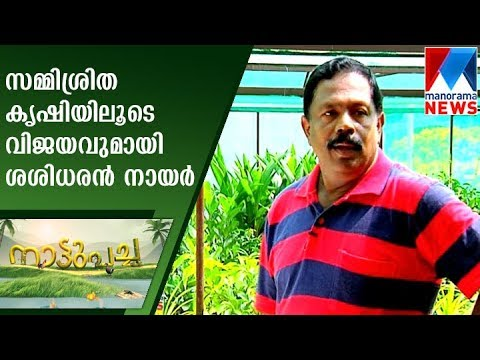 Mixed organic farming of Sashidharan Nair | Nattupacha   | Manorama News