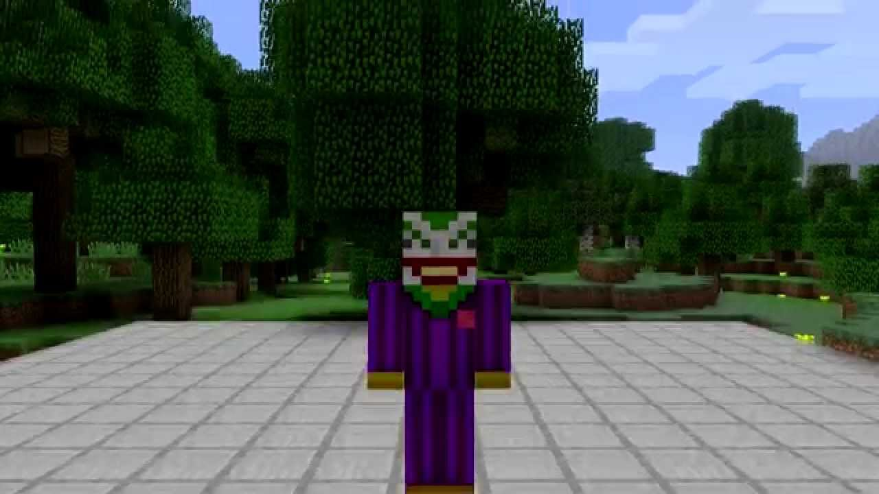 The Joker Minecraft Skin Spotlight YouTube - Skins para minecraft pe joker