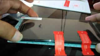 OnePlus Tempered Glass installation.
