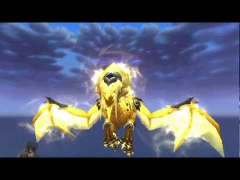 Paiid   In-Game First Look - Heart of the Aspects New WoW Mount