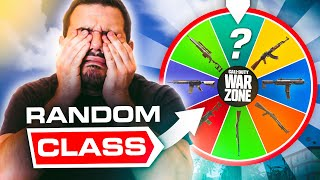 Warzone, but a random wheel chose our classes...