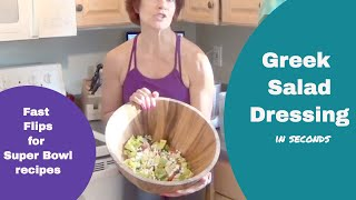 Healthy Super Bowl Recipes Fast | Greek Salad Dressing