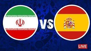 البث المباشر لمباراة اسبانيا و ايران | جميع القنوات الناقلة | روسيا 2018