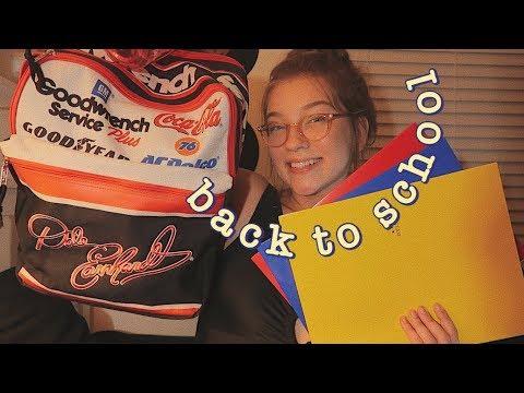 Back To School покупки к американской школе и расписание уроков | Polina Sladkova