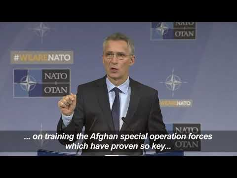 NATO Says To Boost Afghan Mission By 3,000 Troops