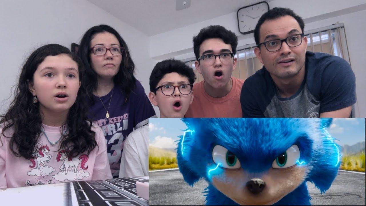 Sonic The Hedgehog Official Trailer Reaction Majeliv Prod 2019