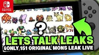 Pokemon SWITCH LET'S TALK NEW RUMOURS! (Pokémon Let's GO Pikachu & Let's GO Eevee!)