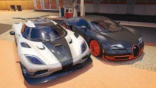 Forza Horizon 3 Online - Bugatti Veyron & Koenigsegg One:1