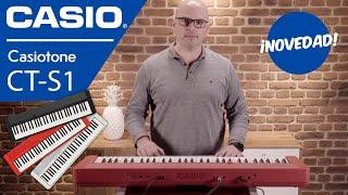 Casio Casiotone CT-S1: así es el nuevo teclado de Casio – Review en español y demo de sonidos