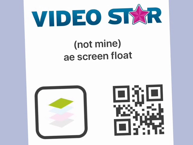 Video Star Qr Codes Shakes Transitions Youtube