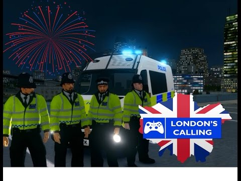 GTA IV London's Calling Clan Official Patrol 144 (New Year's Eve 2016)