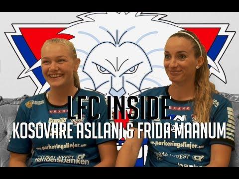 INSIDE LFC med Kosovare Asllani & Frida Maanum
