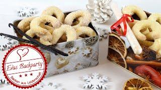 Zarte Vanille- Und Erfrischende Orangenvanille - Kipferl ( Plätzchen Zu Weihnachten )