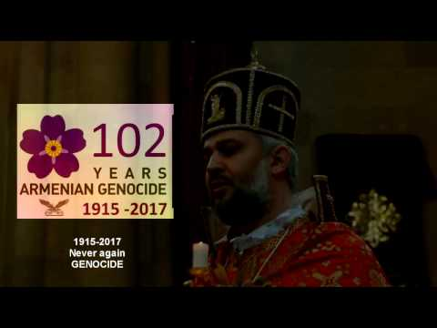 День памяти жертв геноцида армян.Ростов-на-Дону (I Remember Armenian  GENOCIDE 1915-2017)