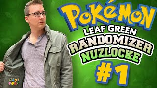Choosing Our Starter! |  Pokémon LeafGreen Randomizer Nuzlocke #1