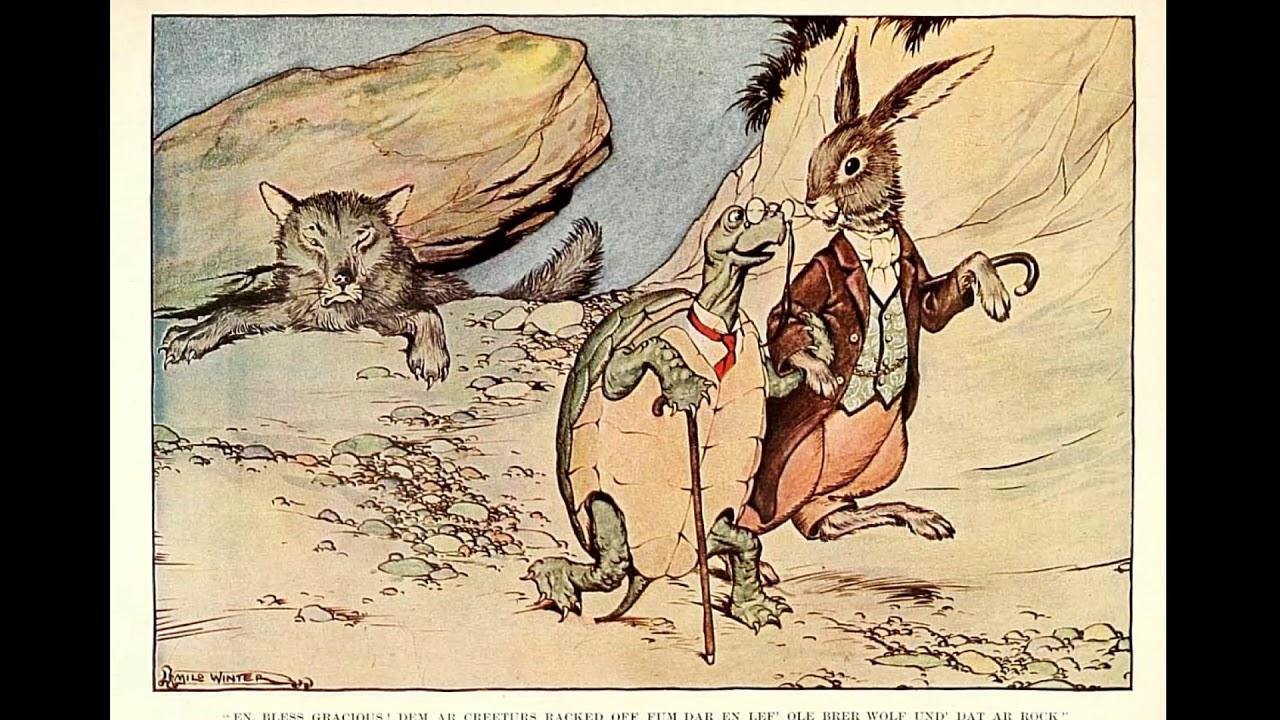 Сказка детям Заяц и черепаха / The Hare and the Tortoise ...