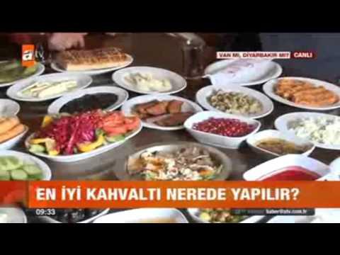 03.01.2015 SERCAN BİLGİ DİYARBAKIR KAHVALTISI ATV KAHVALTI HABERLERİ