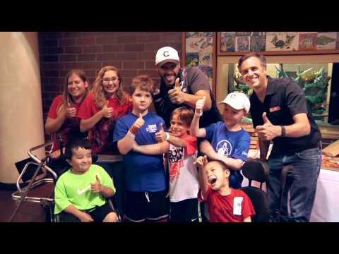 Joe Minoso visits Shriners Hospitals for Children  Chicago
