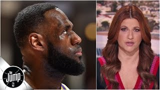 LeBron and the Lakers are 'covered in weeds' right now, and they keep growing | The Jump