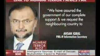 Pakistan panic after Mumbai terror attack