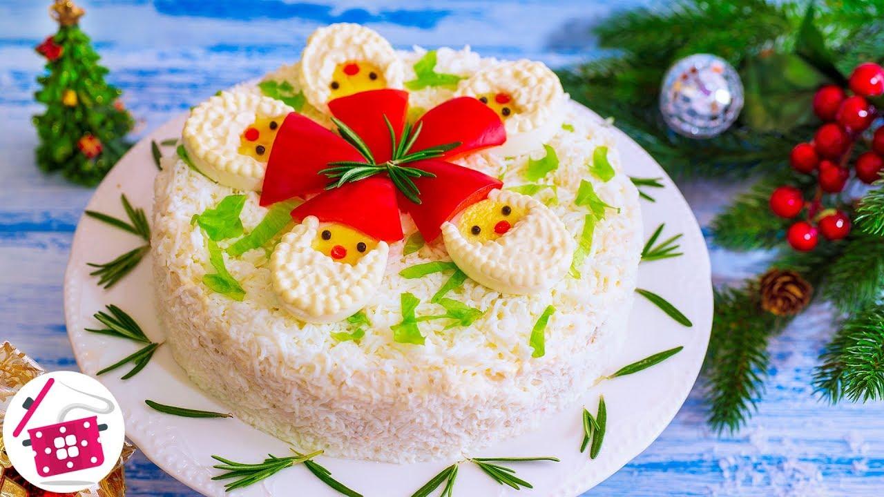 НЕ ХВАТАЕТ только СНЕГУРОЧКИ! НОВЫЙ Праздничный Салат на Новый год 2020