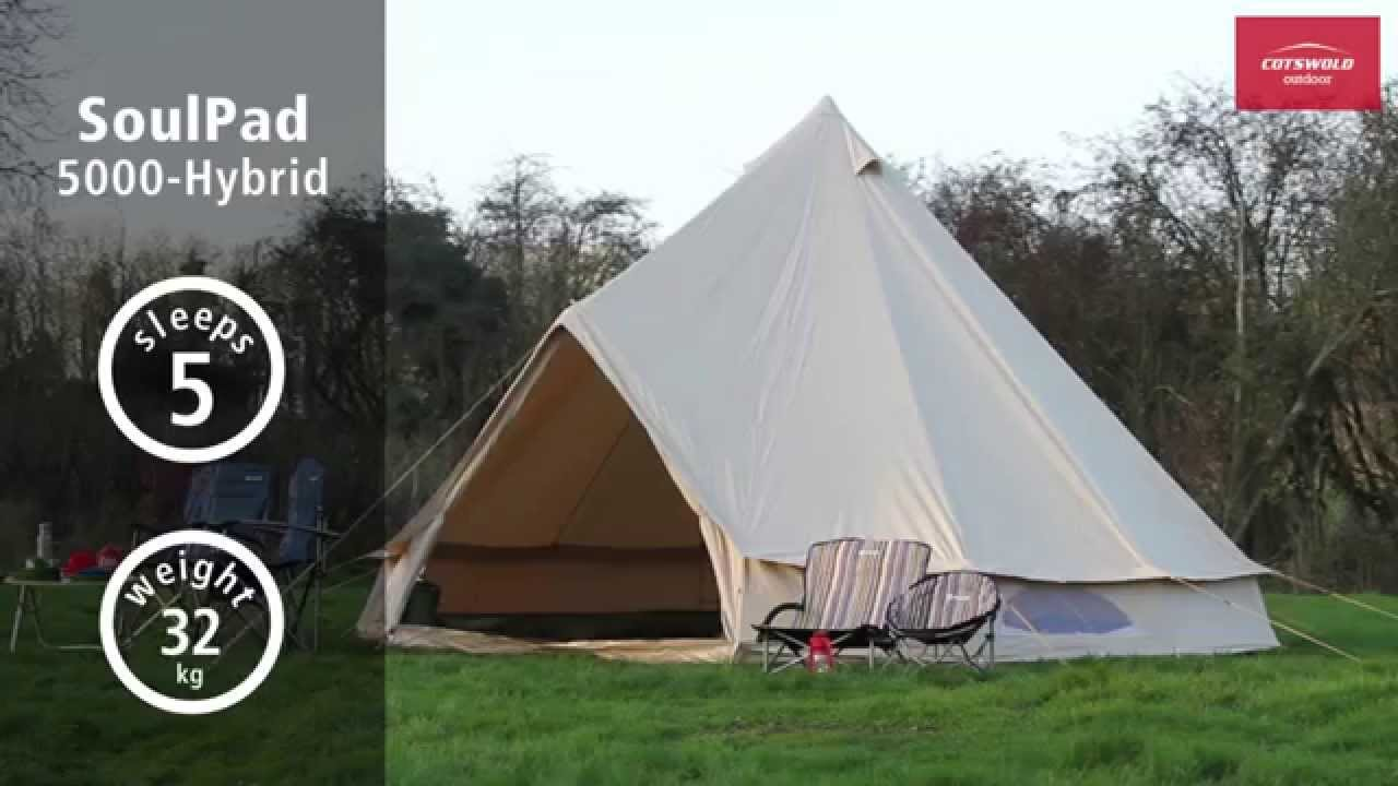 SoulPad 5000 Hybrid Tent & SoulPad 5000 Hybrid Tent - YouTube