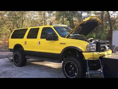 Ford Excursion with Triton 6.8 V10 AC Recharge