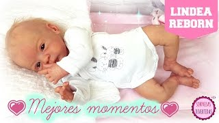Reborn Lindea ❤ Mejores momentos y juegos de mi muñeca ¡Parece un bebé de verdad! Reborn en español