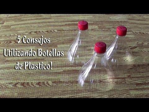 5 Consejos Utilizando botellas de plastico