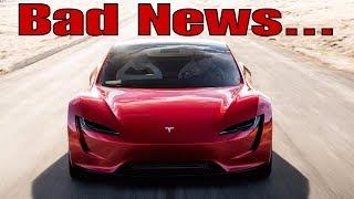 Bad News for Racing - The New Tesla Roadster 2