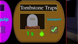 How To Unlock TOMBSTONE TRAPS! NEW SECRET PIGGY TRAP.. (Piggy Halloween Event New Update)