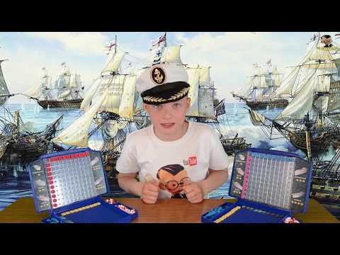 Настольная игра Морской бой  Правила игры ( Обучение )