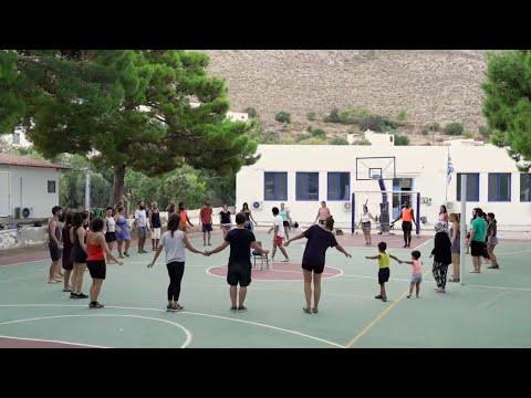 "EU-Programme Erasmus+  ""Multicultural Art for Cultural Integration"", Tilos island, Greece, 2020"