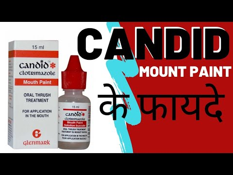 Candid Mouth Paint - Benefit of Using Candid Mouth Paint | Mouth Ulcer