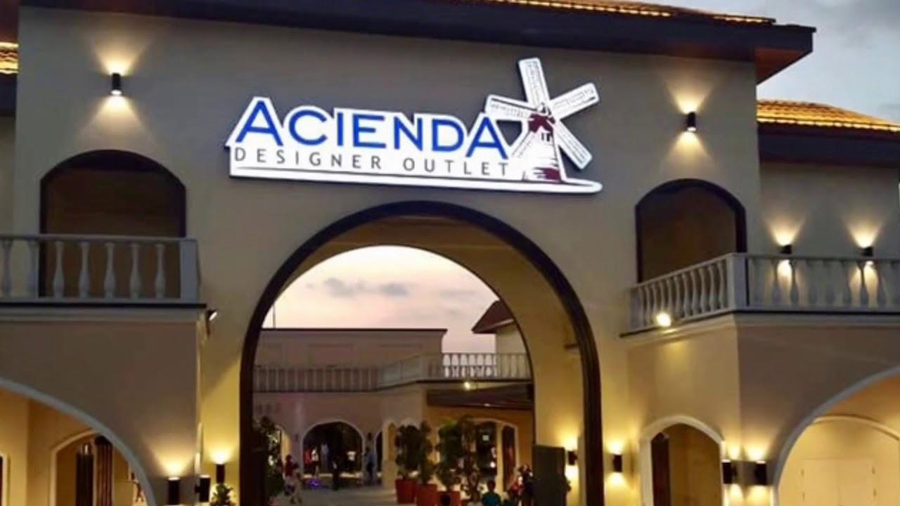 Acienda designer outlet now open 2018 youtube for Design outlet