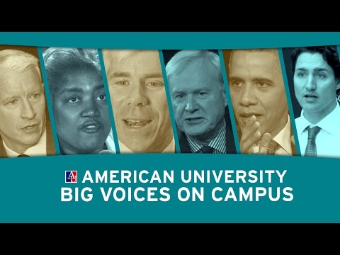 Big Voices on Campus at American University